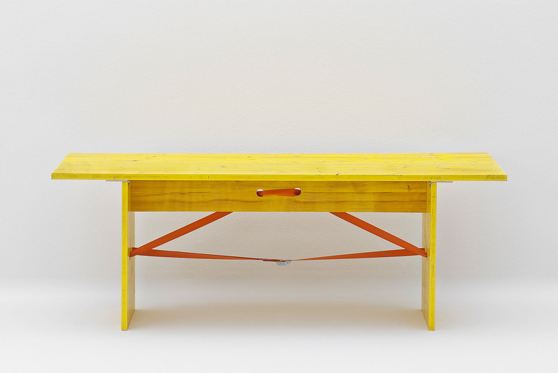 DIY Design: João Silva / Paola De Francesco, MAK-Table, 2009, MAK Wien, Furniture Collection,  photo: Georg Mayer, © MAK