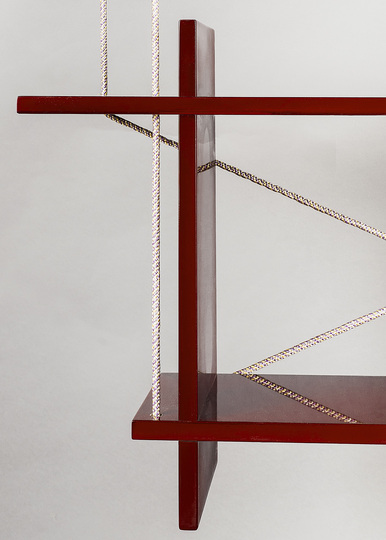 DIY Design: Kueng Caputo, Flying Shelf, detail, 2011, photo: © Suter Caputo