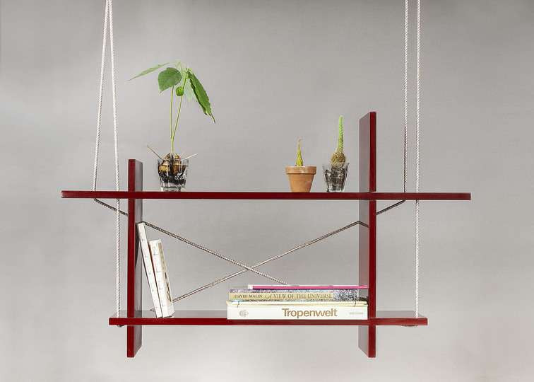 DIY Design: Kueng Caputo, Flying Shelf, 2011, photo: © Suter Caputo