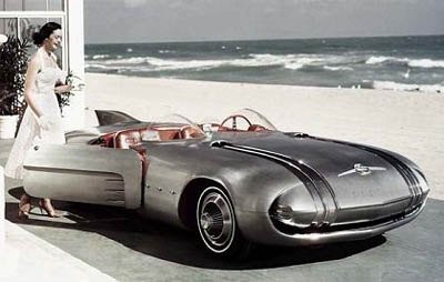 Penccil Harley Earl General Motors Tail Fins And