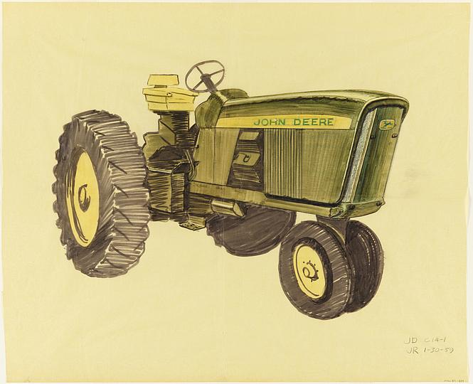 Henry Dreyfuss Tractor Study