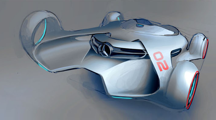 Exciting design concepts by Mercedes Benz. Image courtesy Mercedes ... Up Arrow Image