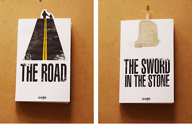 Jacket and bookmark: