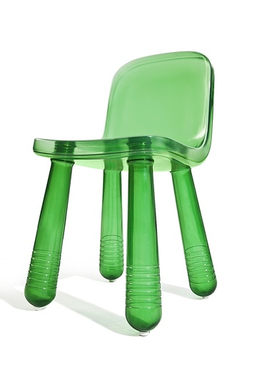 Marcel: Marcel Wanders, Sparkling Chair, chair, 2010  Magis, blow-moulded polystyrene  Now sold as Still