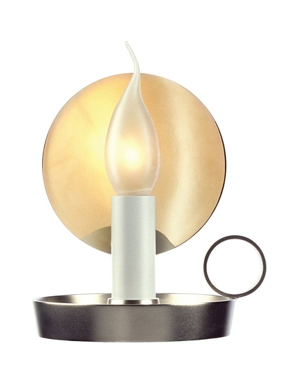 Marcel: Marcel Wanders, B.L.O., table lamp, 2001  Flos, polished stainless steel, perspex