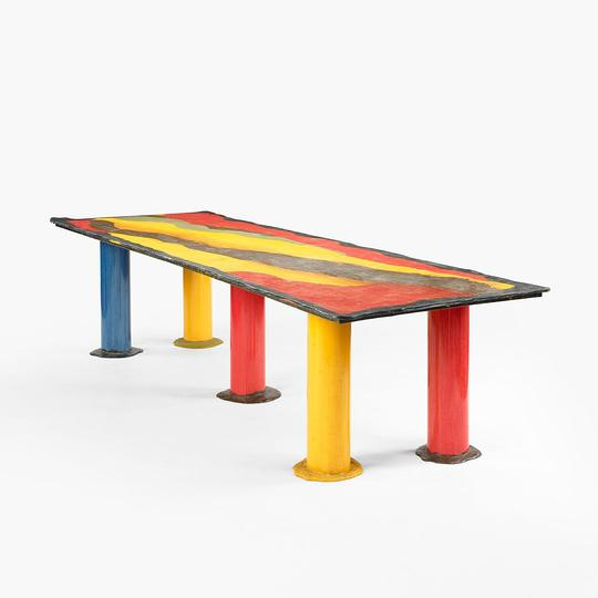 A new way of seeing: Gaetano Pesce, table
