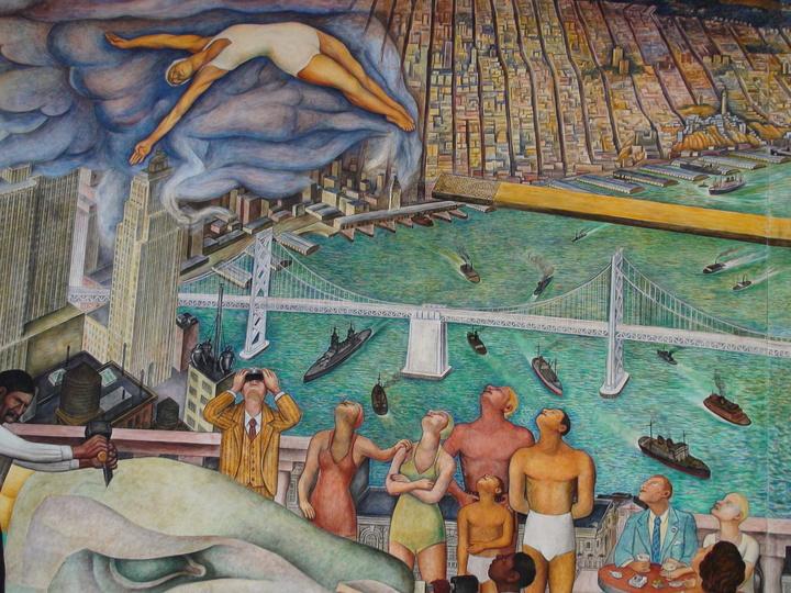 Penccil diego rivera for Diego rivera lenin mural