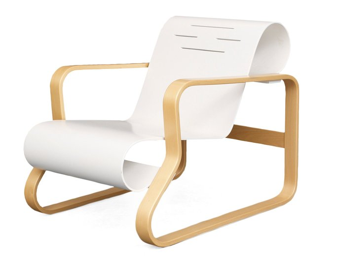 Alvar Aalto furniture: Piamio Arm Chair No 41.