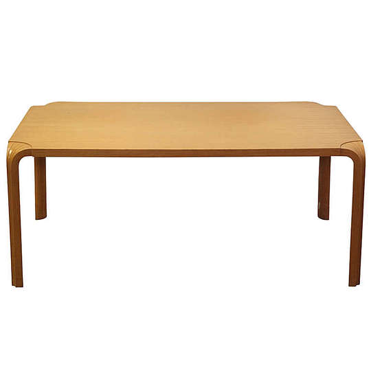 Alvar Aalto furniture: 1954 fan leg table.