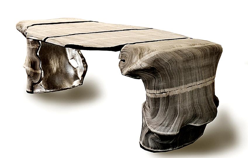 Penccil carta materia viva vibrante mutevole for Table vibrante