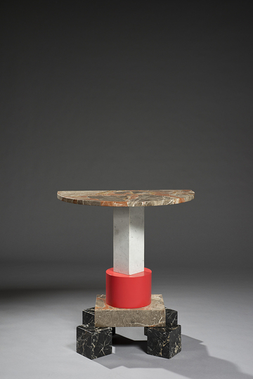 A new way of seeing: Ettore Sottsass, table