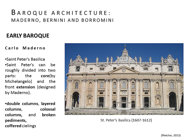 penccil design structure of baroque rome