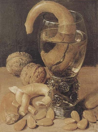 Georg Flegel: Still Life Painter: Still life with pretzels, 1637.