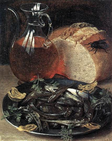 Georg Flegel: Still Life Painter: Still life with fish.