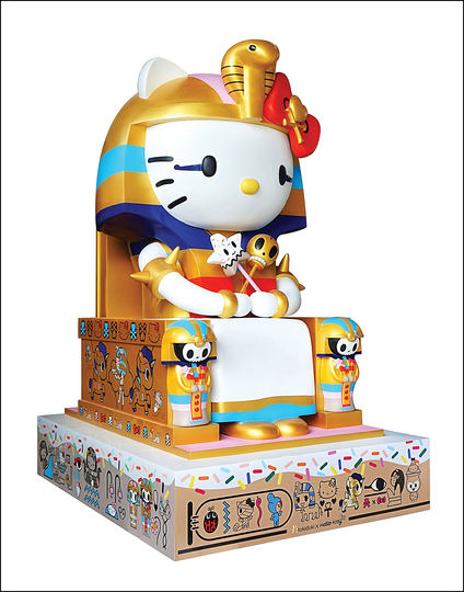 Hello Kitty Culture: Simone Legno for tokidoki, Kittypatra, 2014, Sculpture.