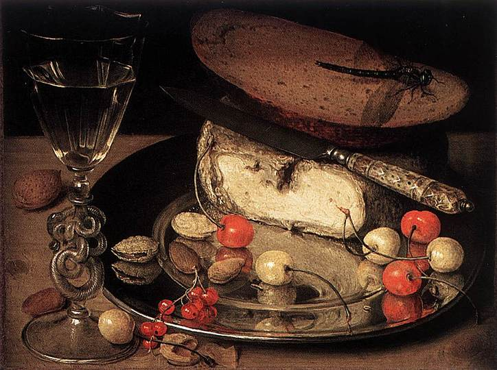 Georg Flegel: Still Life Painter: Still Life with Cherries.
