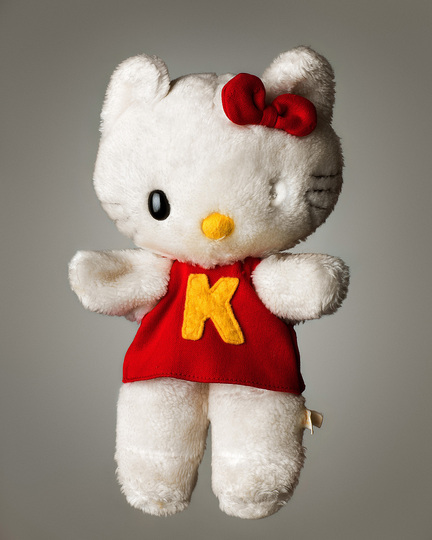 Hello Kitty Culture: Mark Nixon, Much Loved Kitty, 2014. Photograph.