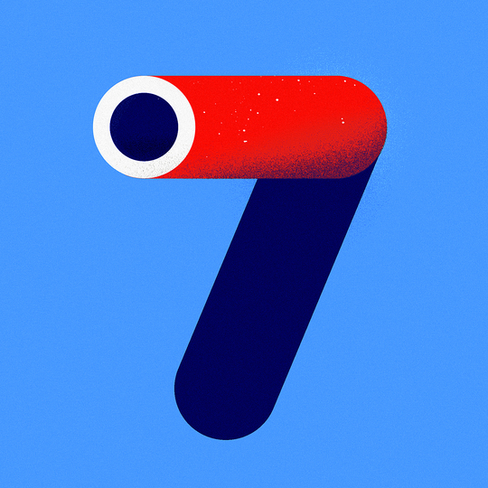 Numerical Digits 1 — 9: