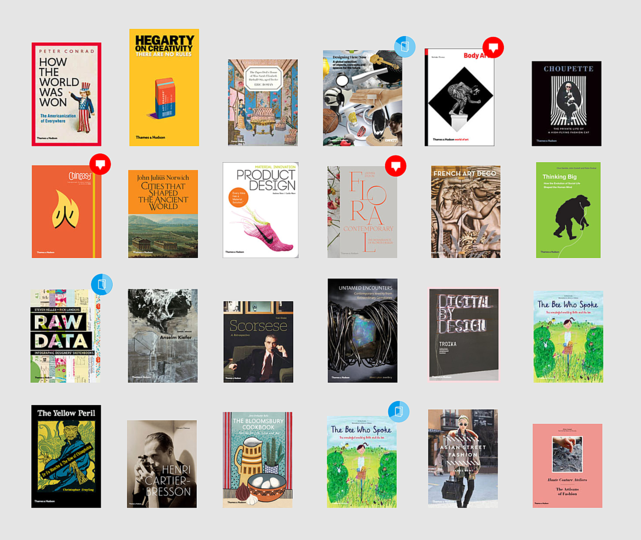Thames & Hudson: The crowdsourced book lets the public rate and co-finance book projects.