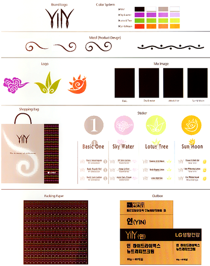 Luxury redefined: Yin graphic design overview