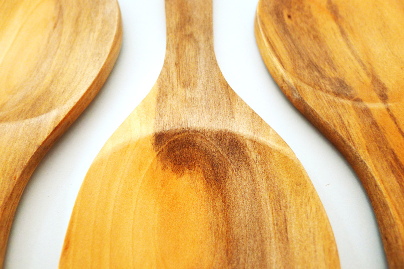 Low Tech can be smart and fun: wooden spoons