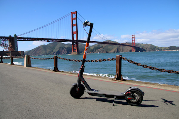 The e-scooter Boom: Spin was launched in San Francisco, USA in February 2018. Spin originally started out as a bike-sharing service start-up and was recently acquired by Ford Motor Company. Courtesy: Spin