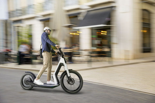 The e-scooter Boom: The 'Streetmate' urban scooter developed by German maker Volkswagen and Chinese startup Niu. The market launch date is yet to be determined. Courtesy: VW